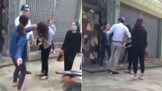 Clip: Vợ bầu đánh đập, chửi mắng