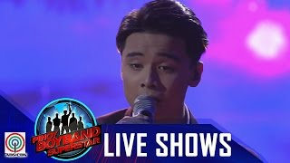 """Pinoy Boyband Superstar Live Shows: Russell Reyes - """"Bakit Pa Ba"""""""