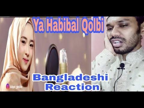 Bangladeshi React to Ya Habibal Qolbi Sabyan Version #TWO-C