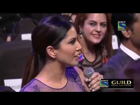 2016 Sony Guild Awards | Sunny Leone | Kapil Sharma -Hosting Awards Show |