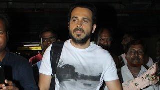 Emraan Hashmi Spotted At Mumbai Airport