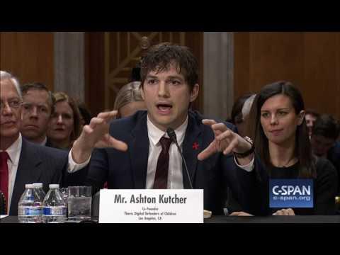 Ashton Kutcher FULL OPENING STATEMENT C SPAN