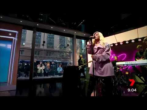 Bebe Rexha - I'm a Mess (Live at 'Sunrise' Australia)