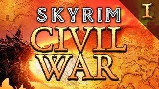 SKYRIM: The return of Meatius   Civil War Pt.1