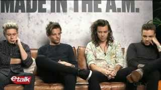 One direction interview - made in a.m. with ETALK (NEW)