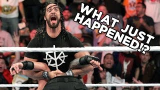 WWE Extreme Rules 2016: WHAT JUST HAPPENED!?
