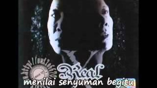 Di Sebalik Senyuman by Real X (dengan lirik)