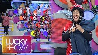 Raffi Bagi Bagi Baju & Celana Buat Peserta Lucky Show [Lucky Show] [14 September 2016]