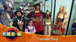 KidVision Pre-K Costume Shop Field Trip