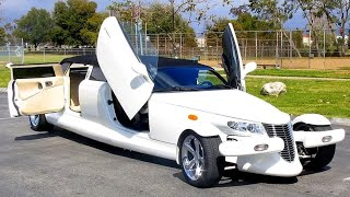 10 MOST UNUSUAL LIMOUSINES