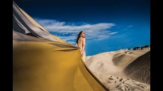 Epic Photoshoot Desert in Malaysia feat Lyanne Low - Until Again