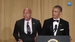 Barack Obama Brings Key & Peele Anger Translator 2015 White House Correspondents' Dinner!