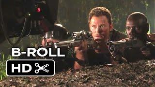 Jurassic World B-ROLL (2015) - Chris Pratt, Jake Johnson Dinosaur Adventure HD
