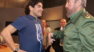 He was like my second father, says Maradona