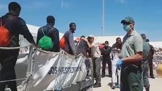 Italy rejects migrant ship, argues it