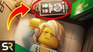 10 LEGO Ninjago Movie Easter Eggs You Didn't Notice