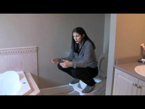 Constipation Positions #2, Rectal Prolapse, Rectocele Remedy