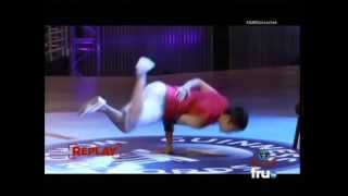 Bboy Fishy OFFICIAL Jackhammer Hops  Guinness World Record 2013 (49)