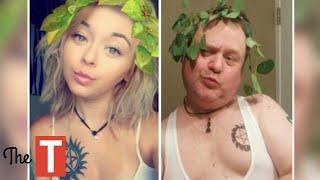 Hilarious Parents Who Copied Their Kids Selfies
