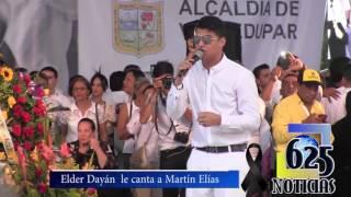 Elder Dayán le canta a su  hermano  Martín Elías