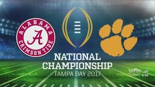 Tampa preps for National Championship