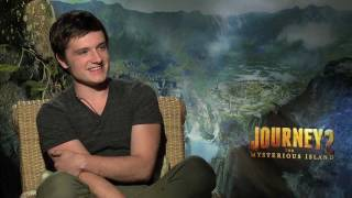 The Rock, Josh Hutcherson (Hunger Games), Vanessa Hudgens interviews - JOURNEY 2