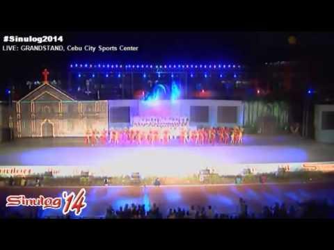 Sinulog 2014 Grand Finale. Visayas twin disasters Yolanda and M7.2