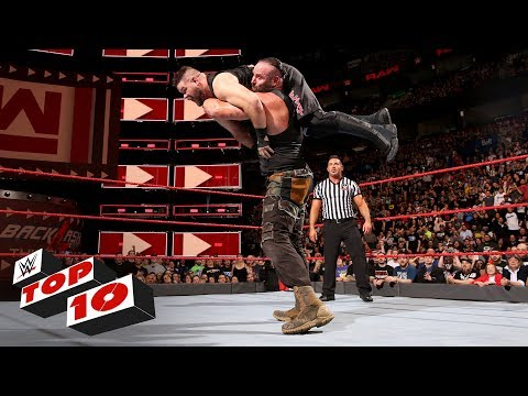Xxx Mp4 Top 10 Raw Moments WWE Top 10 April 30 2018 3gp Sex