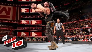 Top 10 Raw moments: WWE Top 10, April 30, 2018