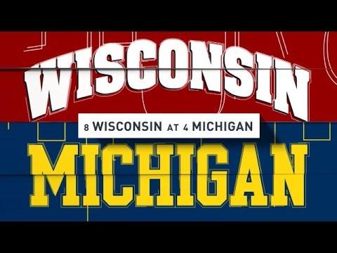 2016-10-01 No. 8 Wisconsin at No. 4 Michigan No Huddle