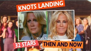 Knots Landing Stars - Then and Now