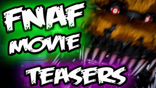 FNAF MOVIE TEASER! *NEWS || Real Animatronics & Lore! || Five Nights at Freddy's Movie Teasers