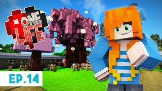 Cherry Blossom Pet Area | One Life Season 2 - Minecraft SMP | Ep.14