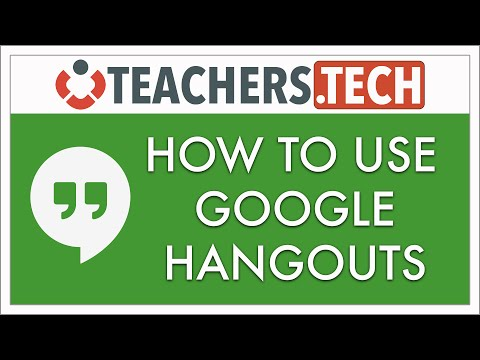 How to Use Google Hangouts NEW 2016 Tutorial