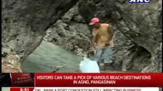 WATCH: Beach destinations in Agno, Pangasinan