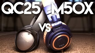 M50x vs QC25 Comparison