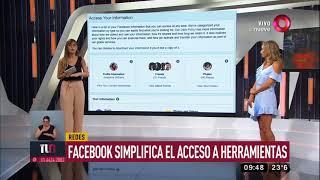 Facebook simplifica el acceso a herramientas