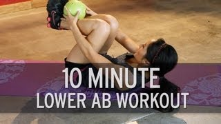 10 Minute Intense Lower Ab Workout