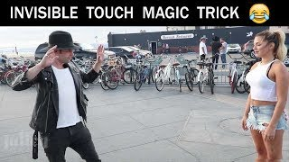 Touching Girls breasts using Magic Trick -Julien Magic