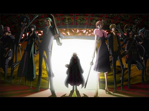 AMV One Piece Luffy vs shiki  (Skillet, Rise) [HD]  Strong World