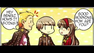 People Talking in Text (K009/Persona 4 Dub)