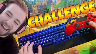 Using MOUSE KEYBOARD and CONTROLLER at THE SAME TIME (FORTNITE BATTLE ROYALE)