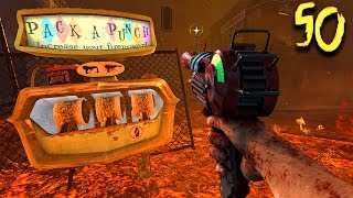 TOWN ROUND 50 CHALLENGE! (Call of Duty Black Ops 2 Zombies)
