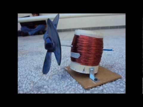 Generador Eólico Casero proyecto