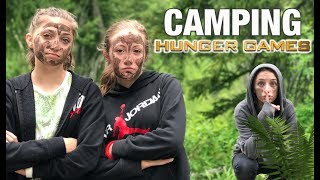 Hunger Games While Camping? | Behind the Braids Ep.33