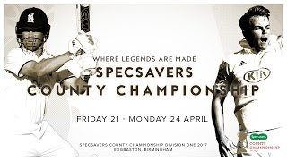 Specsavers County Championship: Warwickshire vs Surrey Day Three