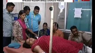 Vadodara: Firing on woman at satyaNayan township_Etv News Gujarati