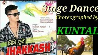 Mini tui Jhakkash || Kusum Kailash || Kuntal's On stage Dance Choreography
