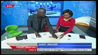 Friday Briefing: Andrew Simiyu The Illusionist with Betty Kyalo