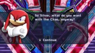sonic rivals 2 - Knuckles and Rouge cutscenes